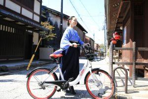 シェアサイクルが京都ユウベルホテルに登場